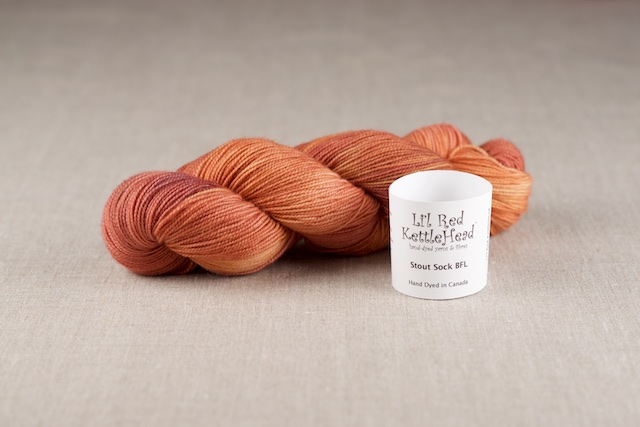Stout Sock BFL - Persimmon