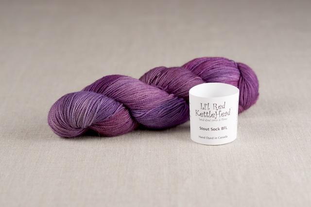 Stout Sock BFL - Grape Jolly