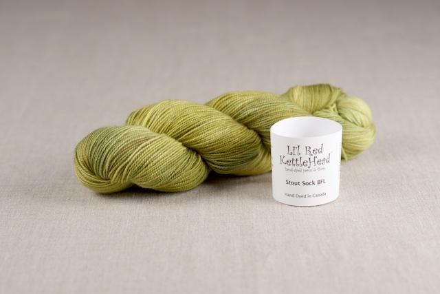 Stout Sock BFL - Limelight
